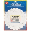 "Hygloss Round Doilies - 100 Piece(s) - 6"" - 1 Pack - White - Paper"
