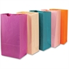 "Hygloss Bright Color Bagz - 50 Piece(s) - 11"" x 6"" x 2.5"" - 50 / Pack - Assorted - Paper"