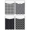 "Trend Black/White Terrific Pockets Variety Pack - 5.3"" Height x 3.5"" Width - Black, White - 40 / Pack"