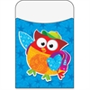 "Trend Owl Stars Terrific Pockets - 5.3"" Height x 3.5"" Width - Multi - 40 / Pack"
