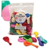 "Hygloss 9"" Round Balloons - 144 Round - Durable - 9"" Height - Assorted - 144 / Pack"