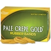 Pale Crepe Gold No. 54 Rubber Bands - Size: #54 - Stretchable - 1 / Box - Crepe