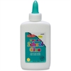 CLI Squeeze Bottle School Glue - 4 oz - 1 Each - White