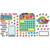 "Trend BlockStars Calendar Bulletin Board Set - 23"" Height - Multicolor - 103 / Set"