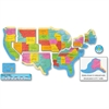 Trend US Map Bulletin Board Set - Learning Theme/Subject - Multicolor - 9 / Set