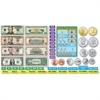 Trend US Money Bulletin Board Set - Learning Theme/Subject - 6 Coin, 4 Bill, 31 Label - Multicolor - 52 / Set