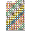 Trend Cheer Words Super Sport Stickers - Encouragement Theme/Subject - Self-adhesive - Way to Go!, Hooray!, You Did It!, Great Job!, Good Work!, Tops! - Acid-free, Fade Resistant, Non-toxic, Photo-saf