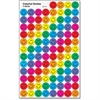 Trend Colorful Smiles superSpots Stickers - Encouragement Theme/Subject - Smiley Face - Self-adhesive - Acid-free, Fade Resistant, Non-toxic, Photo-safe - Blue, Red, Yellow, Green, Orange, Purple, Pin