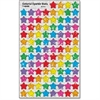 Trend Colorful Sparkle Stars superShapes Stickers - Sparkle Stars - Self-adhesive - Acid-free, Fade Resistant, Non-toxic, Photo-safe - Blue, Red, Yellow, Green, Orange, Purple, Pink - 400 / Pack