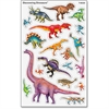 Trend Large Dinosaurs superShapes Stickers - Animal Theme/Subject - Dinosaur - Self-adhesive - Acid-free, Fade Resistant, Non-toxic, Photo-safe - Multicolor - 152 / Pack