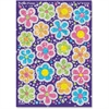 Trend Flower Power Sparkle Stickers - Flower - Self-adhesive - Sparkle - Acid-free, Fade Resistant, Non-toxic, Photo-safe - Multicolor - 40 / Pack