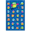 Trend Colored Owl superShapes Stickers - Owl - Self-adhesive - Acid-free, Fade Resistant, Non-toxic, Photo-safe - Multicolor - 200 / Pack
