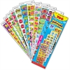 Trend Primary Favorites Stickers - Encouragement, Fun Theme/Subject - Self-adhesive - Fun Fish, Reading Fun, Reward Ribbons, Math Fun, Super Stars, Cool Treats, Sea Creatures, Cute Bugs, Cartoon Kids,