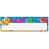 "Trend Sea Buddy Desk Toppers Nameplates - 2.88"" Height x 9.50"" Width - Multicolor - 36 / Pack"