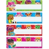 "Trend BlockStars! Desk Toppers Nameplates - 2.88"" Height x 9.50"" Width - Multicolor - 32 / Pack"