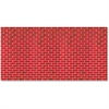 "Pacon Brick Tu-Tone Design Bulletin Board Papers - 48"" x 12 ft - 1 Roll - Red"