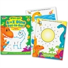 Trend A to Z Dino Dot to Dot Wipe-off Book Learning Printed Book - Book - 28 Pages
