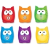 Learning Resources Vowel Owls Magnetic Set - Learning Theme/Subject - 6 Owl - Magnetic - Write on/Wipe off, Reusable - Assorted - 1 Set