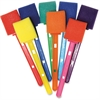 ChenilleKraft Watercolor Wands - 48 / Set - Red, Blue, Light Blue, Green, Purple, Yellow, Orange, Pink