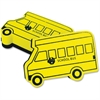 The Pencil Grip Bus-shaped Magnetic Board Eraser - Magnetic - Yellow - 12 / Pack