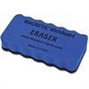 The Pencil Grip Magnetic Whiteboard Eraser - Ergonomic Design, Soft, Dirt Resistant, Magnetic - Blue - 1 Each