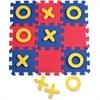 WonderFoam Tic-Tac-Toe Mat - Learning - Assorted - Foam