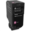 Lexmark Unison Original Toner Cartridge - Magenta - Laser - High Yield - 16000 Page