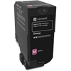 Lexmark Unison Original Toner Cartridge - Magenta - Laser - High Yield - 12000 Page