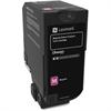 Lexmark Unison Original Toner Cartridge - Magenta - Laser - Standard Yield - 3000 Page