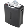 "HSM shredstar X5 Cross-cut Shredder - Non-continuous Shredder - Cross Cut - 5 Per Pass - for shredding Paper, Staples, Paper Clips, Credit Cards, CD/DVDs - P-4 / O-1 / T-2 / E-2 / F-1 - 8.6"" Throat -"
