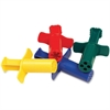 ChenilleKraft Dough Extruders - 4 / Set - Assorted
