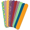 "Roylco Fabric Craft Sticks - 1"" x 7"" - 50 / Pack - Assorted - Fabric"