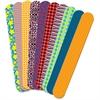 "Roylco Fabric Craft Sticks - 1"" x 7"" - 50 / Pack - Assorted - Fabric"