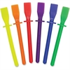 "Roylco Goo Spreader Art Tool - 4"" - 10 / Pack - Assorted - Plastic"