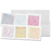 "Roylco Optical Illusion Rubbing Plates - 7"" x 7"" - 6 / Pack - Clear - Plastic"