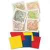 "Roylco Bug Rubbing Plates - 7"" x 7"" - 6 / Pack - Clear - Plastic"