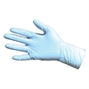 ProGuard Disposable Nitrile Powder Free Exam, 8 mil - Chemical Protection - Medium Size - Nitrile - Blue - Beaded Cuff, Puncture Resistant, Textured Grip, Powder-free, Ambidextrous - For Chemical, Foo