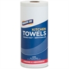 """Genuine Joe 85-sheet Perforated Roll Towels - 2 Ply - 9"""" x 11"""" - 85 Sheets/Roll - White - Paper - Perforated, Chlorine-free - For Kitchen - 30 / Carton"""