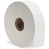 "Genuine Joe 2-ply Jumbo Roll Bath Tissue - 2 Ply - 3.50"" x 2000 ft - White - Fiber - For Bathroom - 6 / Carton"