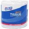 Genuine Joe 2-ply Bath Tissue - 2 Ply - White - Fiber - For Bathroom Sheets Per Carton - 96 / Carton