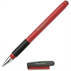 SKILCRAFT Bio-Write Gel Stick Pens - Medium Point Type - 0.7 mm Point Size - Red Pigment-based Ink - 1 Dozen