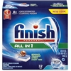 Finish Powerball Dishwasher Tabs - Tablet - Fresh Scent - 32 / Box - 256 / Carton - Blue, Red, White