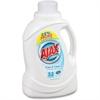 AJAX Free/Clear Liquid Laundry Detergent - 0.39 gal (49.71 fl oz) - 1 Each - Clear