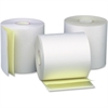 "Business Source Carbonless Paper - 3"" x 90 ft - 0% Recycled Content - 50 / Carton - White"