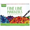 40-count Fine Line Markers Set - Assorted - 40 / Each