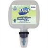 Dial Antibacterial Hand Sanitizer Gel Refill - 6.8 fl oz (200 mL) - Kill Germs, Bacteria Remover, Yeast Remover, Mold Remover - Hand, Skin - Clear - Anti-bacterial, Hypoallergenic, Fragrance-free, Dye