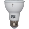 GE 7-watt LED Light Bulb - 7 W - 3600 cd - White Light Color - E26 Base - 25000 Hour - 4400.3°F (2426.8°C) Color Temperature - 80 CRI - 20° Beam Angle - 6 / Carton