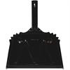 """Genuine Joe Heavy-Duty Metal Dustpan - 12"""" Wide - Metal Pan - Black"""