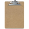 "OIC Hardwood Clipboard - 1"" Clip Capacity - 8.50"" x 11"" - Spring Clip - Hardwood - Brown"