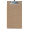 "OIC Hardwood Clipboard - 1"" Clip Capacity - 8.50"" x 14"" - Spring Clip - Hardwood - Brown"